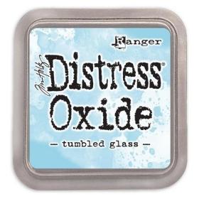 Distress Oxide Tumbled Glass ( Let op!! Pre-order, binnenkort leverbaar!! )