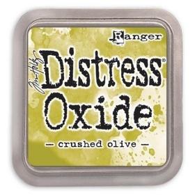 Distress Oxide Crushed Olive ( Let op!! Pre-order, binnenkort leverbaar!! )