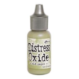 Distress Oxide Refill Old Paper ( Let op!! Pre-order, binnenkort leverbaar!! )