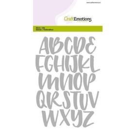 Mal 0512 - Handlettering Alfabet Hoofd Letter Large