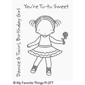 Pure Innocence Tu-Tu Sweet Stamps