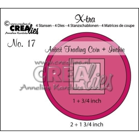 X-tra Stansen No. 17, Artist Trading Coin And Inchie
