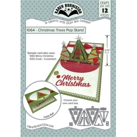 Mal 1064 - Christmas Trees Pop Stand ( Leverbaar rond 11 sept. )