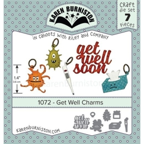 Mal 1072 - Get Well Charms ( Leverbaar rond 11 sept. )
