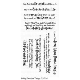Sassy Pants Best Friends Stamps