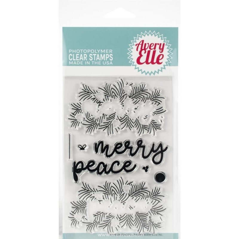 Peaceful Pines Stamps