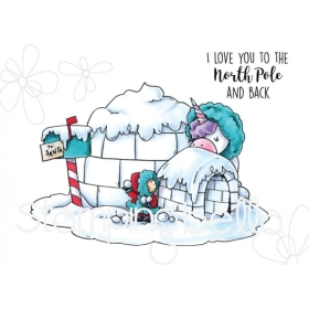 Rosie And Bernie In The North Pole