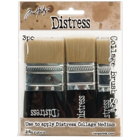 Tim Holtz Distress Collage Brush Set