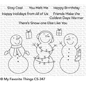 Frosty Friends Stamps