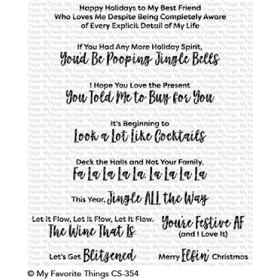 Sassy Pants Holiday Stamps