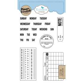 Calender Clearstamps