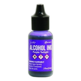 Purple Twilight (Alcohol Ink)