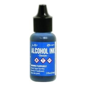 Denim (Alcohol Ink)