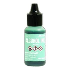 Aqua (Alcohol Ink)
