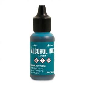 Stream (Alcohol Ink)