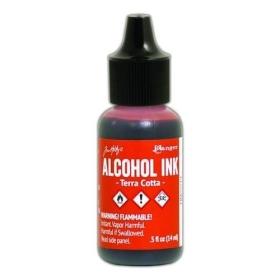 Terra Cotta (Alcohol Ink)