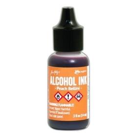 Peach Bellini (Alcohol Ink)