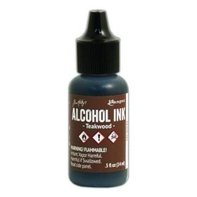 Teakwood (Alcohol Ink)
