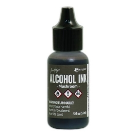 Mushroom (Alcohol Ink)