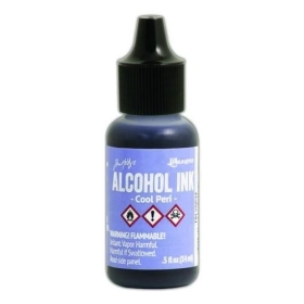 Cool Peri (Alcohol Ink)