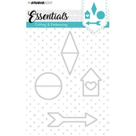 Cutting and Embossing Die, Essentials Nr.142