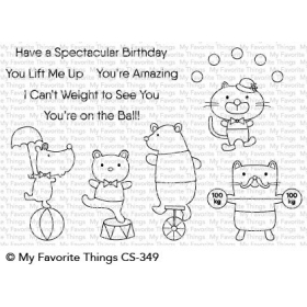 Spectacular Birthday Clearstamps