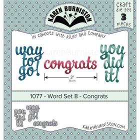 Mal 1077 - Word Set 8 - Congrats