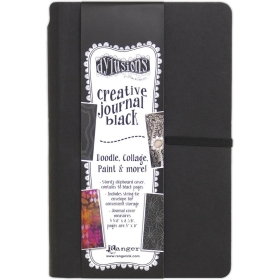 Dylusions Black Journal Small