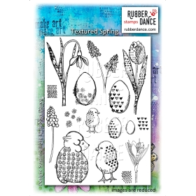 Textured Spring Unmounted Stamps