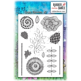 Crazy Flowers 2 Unmounted Stamps