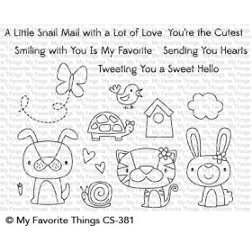 Cute Critters Clearstamps