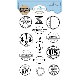 Circle Labels Clearstamps