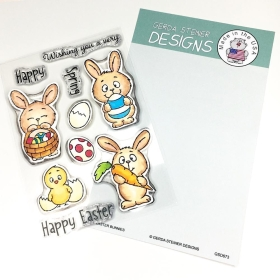 Easter Bunnies Clearstamps