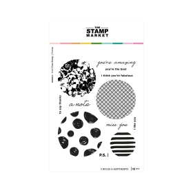 Circles & Sentiments Stampset