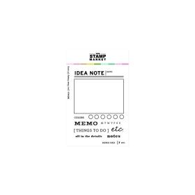 Memo Pad Stampset