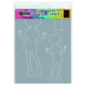 Silhouettes Maisie Stencil