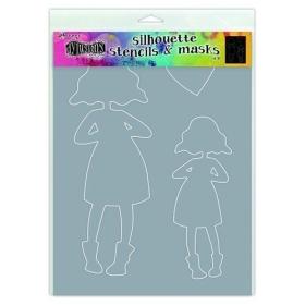 Silhouettes Martha Stencil