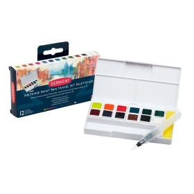 Inktense Paint Pan Travel Set Palette No. 2