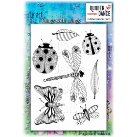 Things with Wings Unmounted Stamps