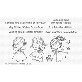 Fairy Good Friends Clearstempels