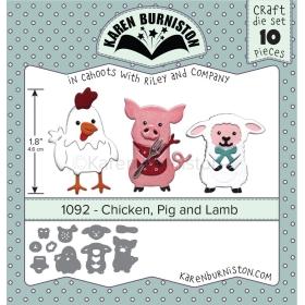 Mal 1092 Chicken, Pig and Lamb - Leverbaar Tweede Helft Juli