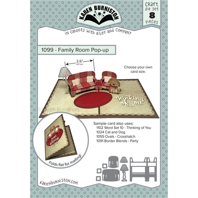 Mal 1099 - Family Room Pop-up - Leverbaar Tweede Helft Juli