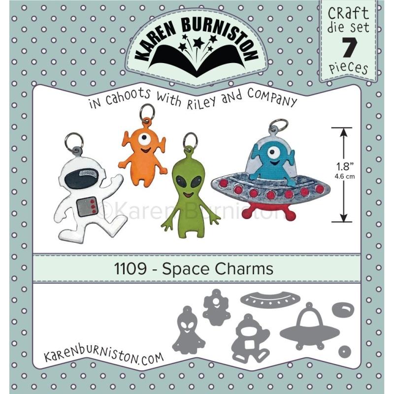 Mal 1109 - Space Charms - Leverbaar Tweede Helft Juli