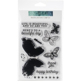 Beautiful Butterfly Clearstamps