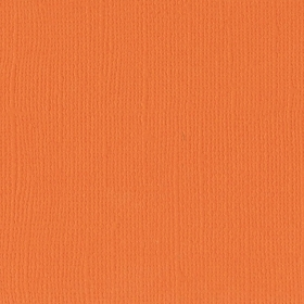 "Texture Cardstock 216g 12x12"" - 1 Vel Mandarin"