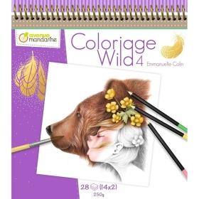Coloriage Wild 4 door Emmanuelle Colin ( Levertijd eind juli )