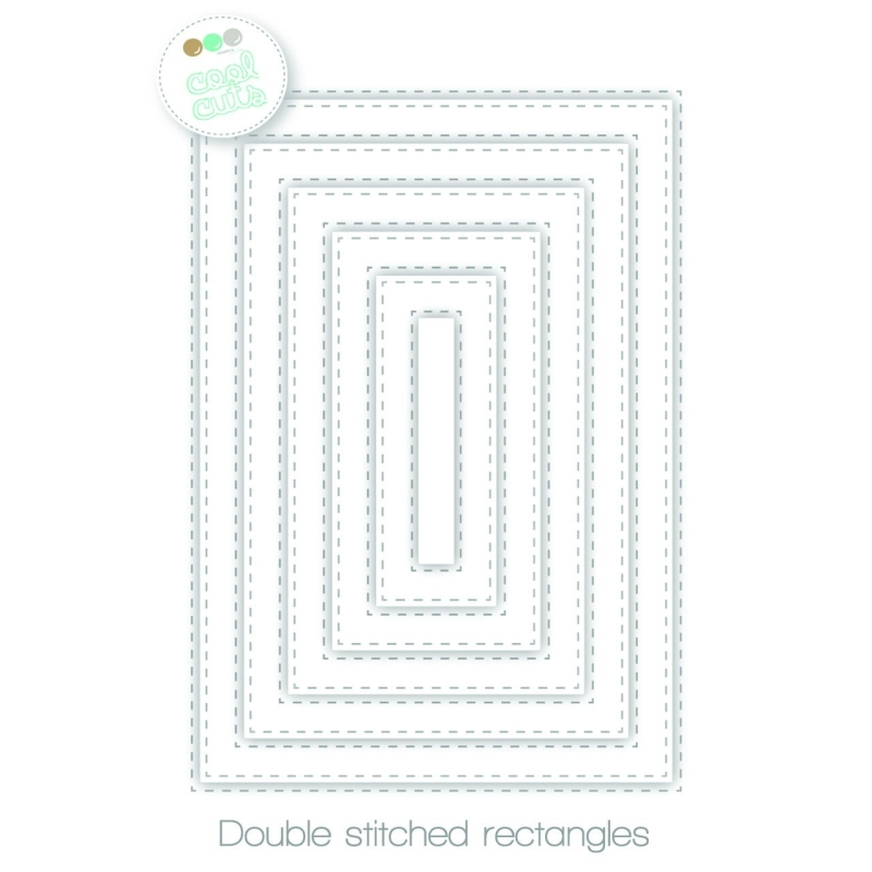 Double Stitched Rectangles Mallen