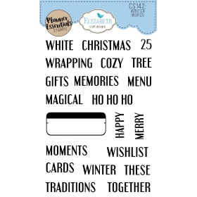 Winter Words Clearstamps