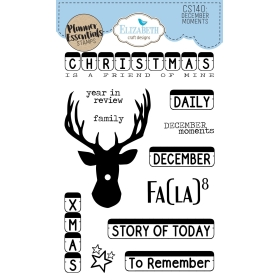 December Moments Clearstamps