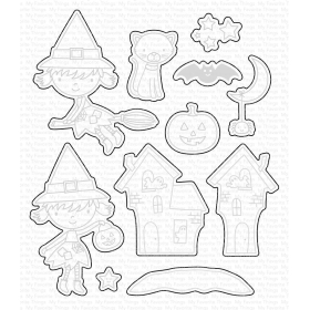 Best Witches Stamps And Dies Set